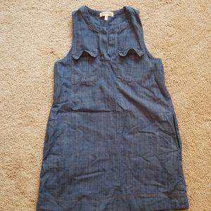 Super cute jean dress w/ pockets